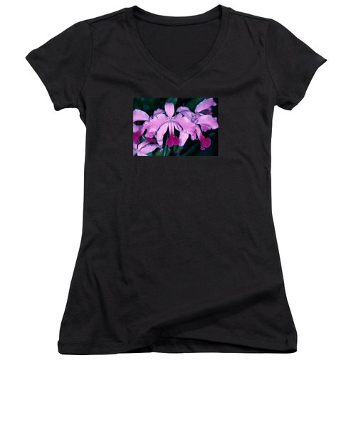 Orchid 6 Women's V-Neck (Athletic Fit)