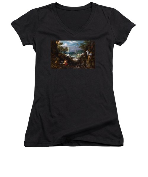 Orpheus Women's V-Neck T-Shirt