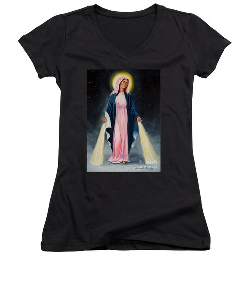 Our Lady Of Grace II Women's V-Neck T-Shirt