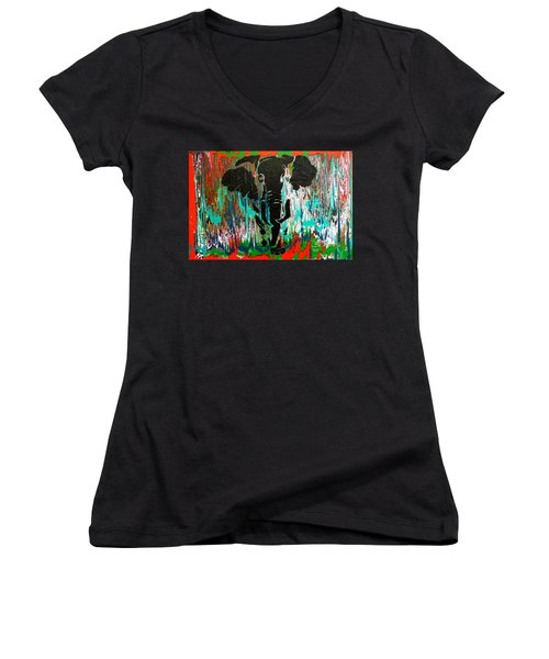 Out Of Africa Women's V-Neck