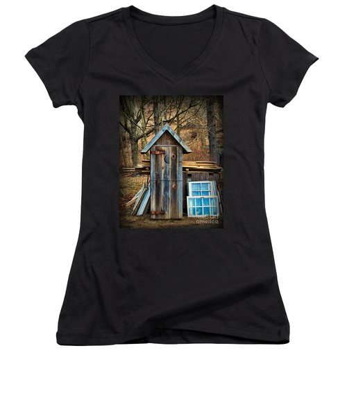 Outhouse - 5 Women's V-Neck T-Shirt