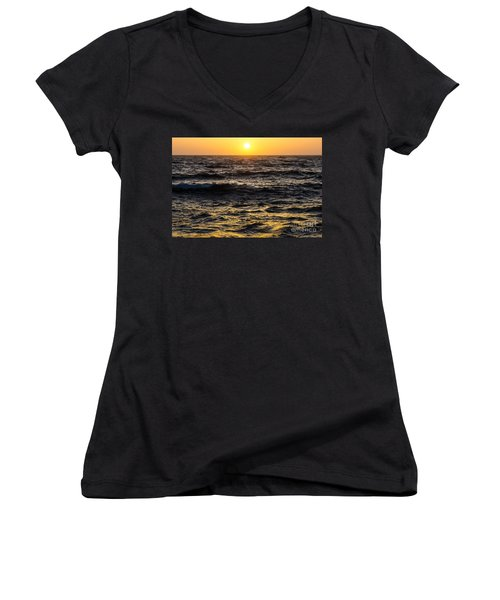 Pacific Reflection Women's V-Neck T-Shirt