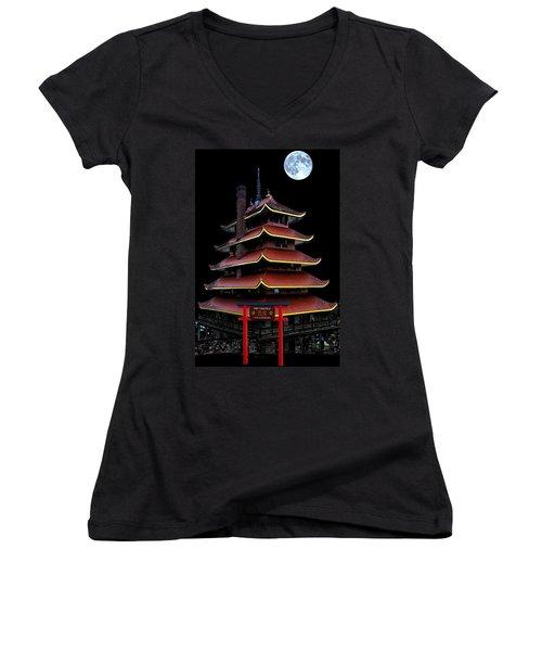 Pagoda Women's V-Neck