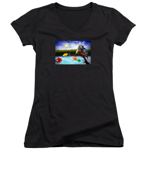 Paper Dreams Women's V-Neck T-Shirt