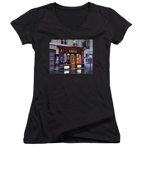 Paris Shop Women's V-Neck