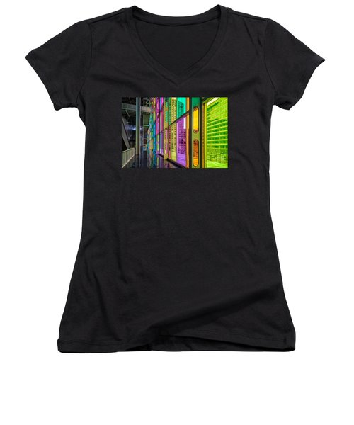 Pastel World Women's V-Neck T-Shirt