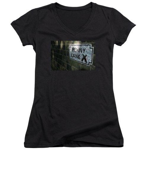 Penny Lane Women's V-Neck T-Shirt