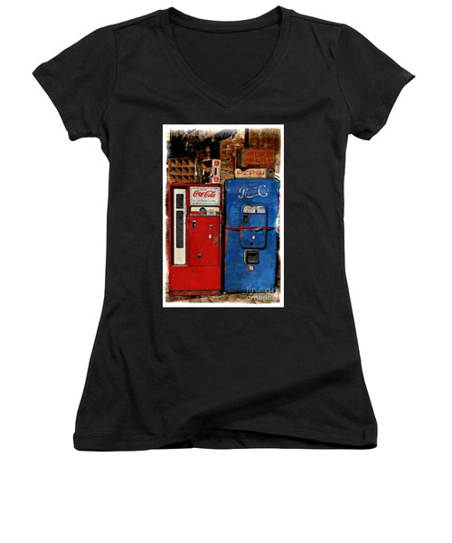 Pepsi Women's V-Neck T-Shirt