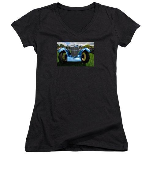 Perspective M G Magna Women's V-Neck T-Shirt (Junior Cut) by John Schneider