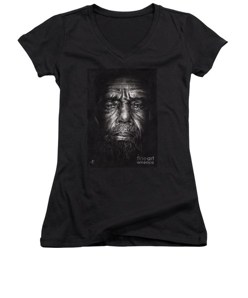 Philip Women's V-Neck T-Shirt