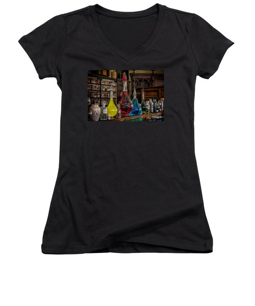 Pick An Elixir Women's V-Neck (Athletic Fit)