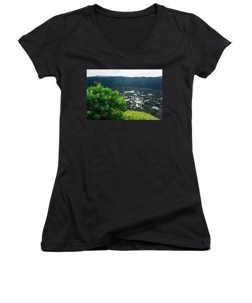 Piercing Sunlight Women's V-Neck T-Shirt