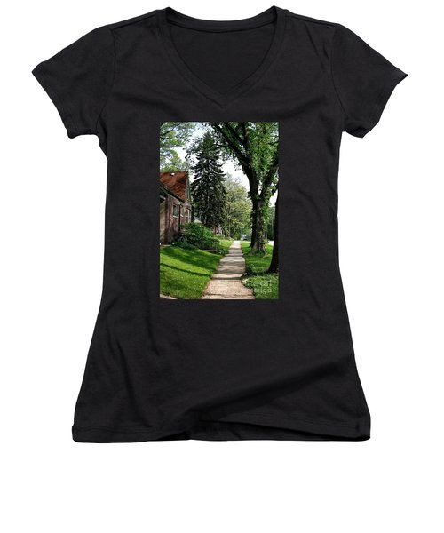 Pine Road Women's V-Neck (Athletic Fit)