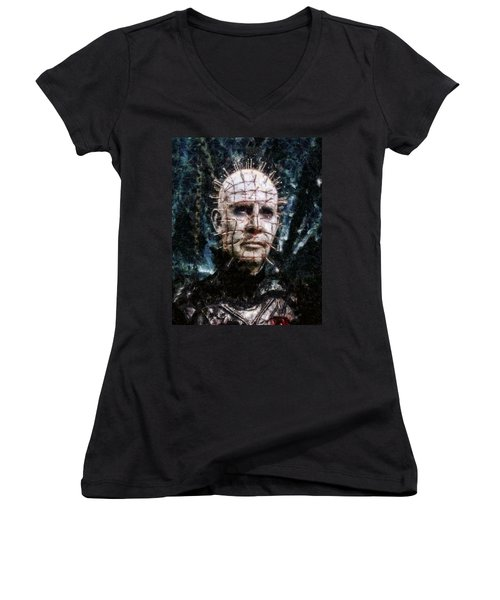 Pinhead Women's V-Neck (Athletic Fit)