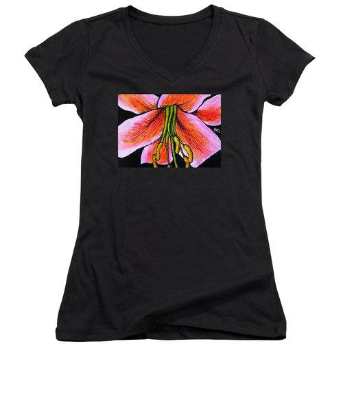 Pink Lily Women's V-Neck