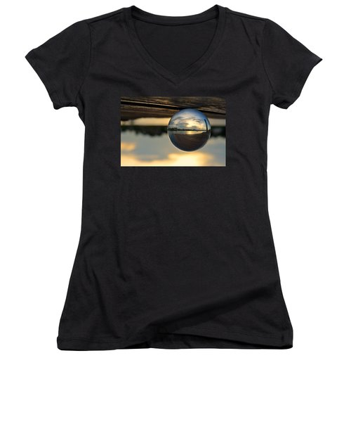 Planetary Women's V-Neck (Athletic Fit)
