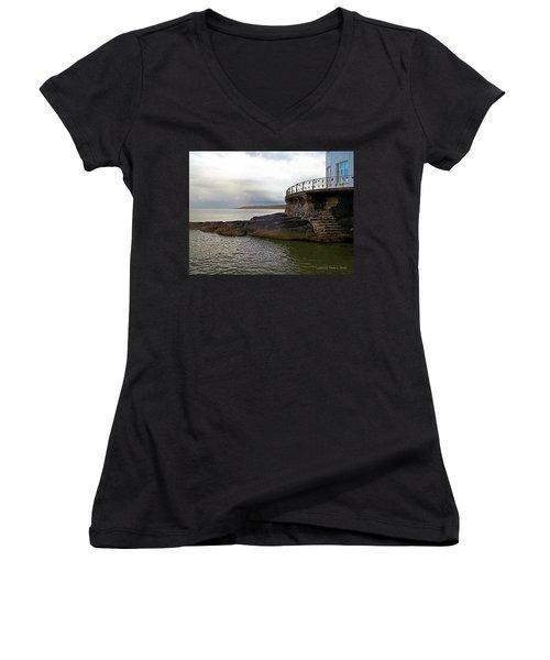 Portrush Northern Ireland Women's V-Neck T-Shirt
