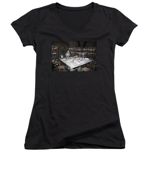 Potions Women's V-Neck (Athletic Fit)