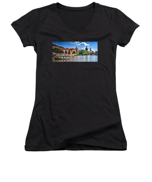 Prague Women's V-Neck T-Shirt