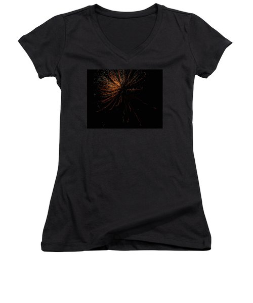 Pretty In The Sky Women's V-Neck (Athletic Fit)