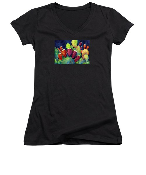 Prickly Pear Women's V-Neck T-Shirt