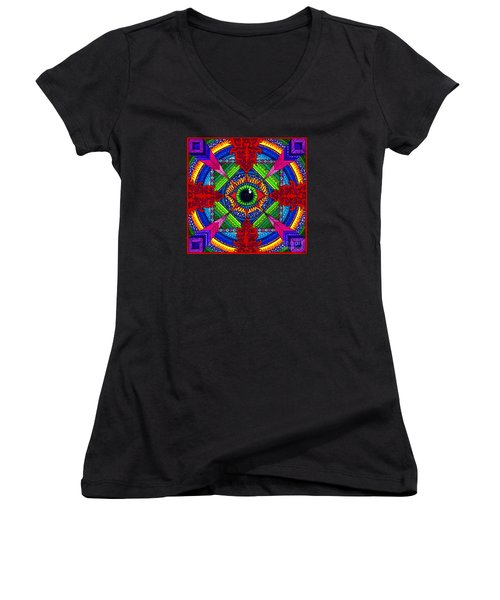 Pry It Open Women's V-Neck T-Shirt
