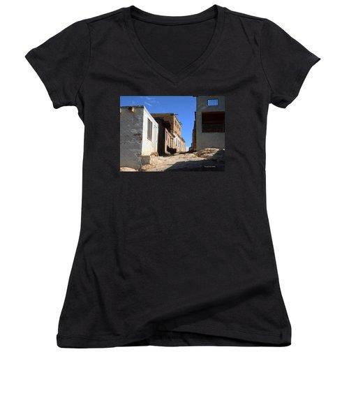 Pueblo Pathway Women's V-Neck T-Shirt