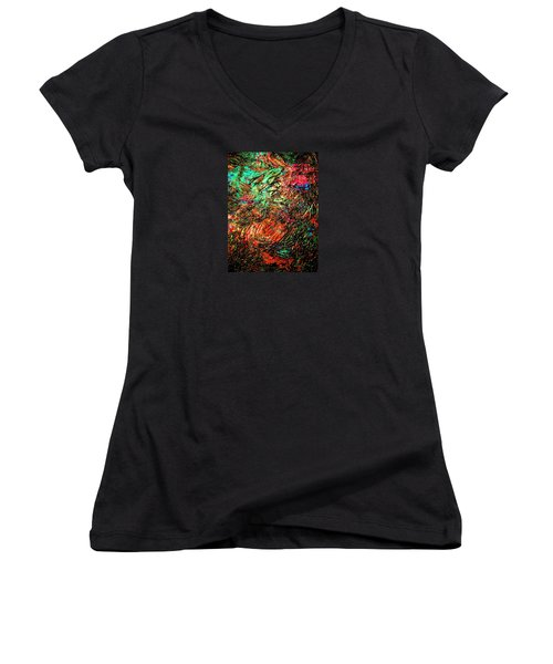Pure Bliss Women's V-Neck (Athletic Fit)