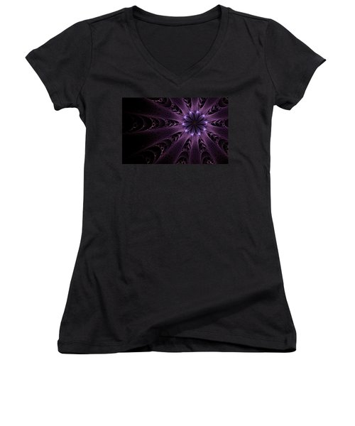Purple Passion Women's V-Neck T-Shirt