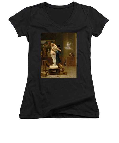Pygmalion And Galatea Women's V-Neck T-Shirt