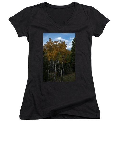 Quaking Aspen Women's V-Neck