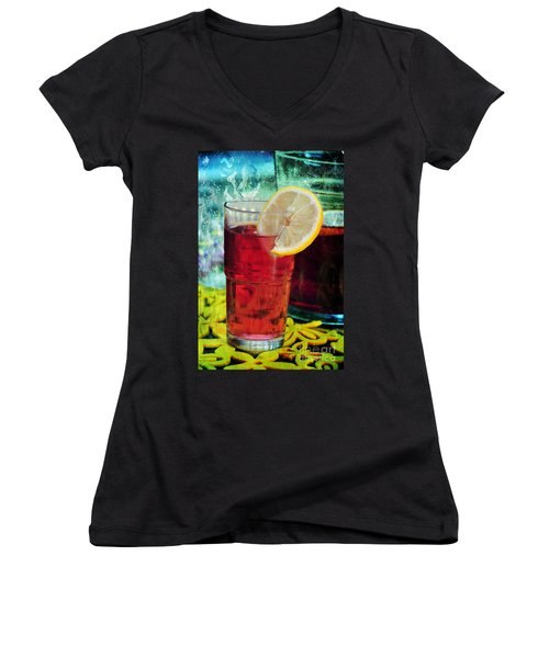 Quench My Thirst Women's V-Neck (Athletic Fit)