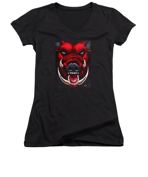 Raging Hog Women's V-Neck
