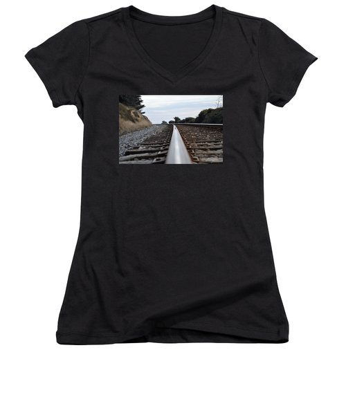 Rail Rode Women's V-Neck