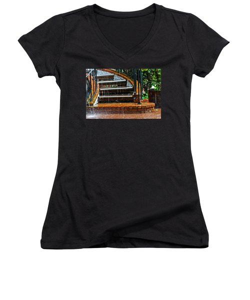 Rainy Day Women's V-Neck
