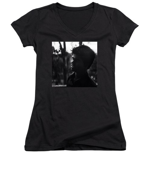 Raj, India Women's V-Neck T-Shirt