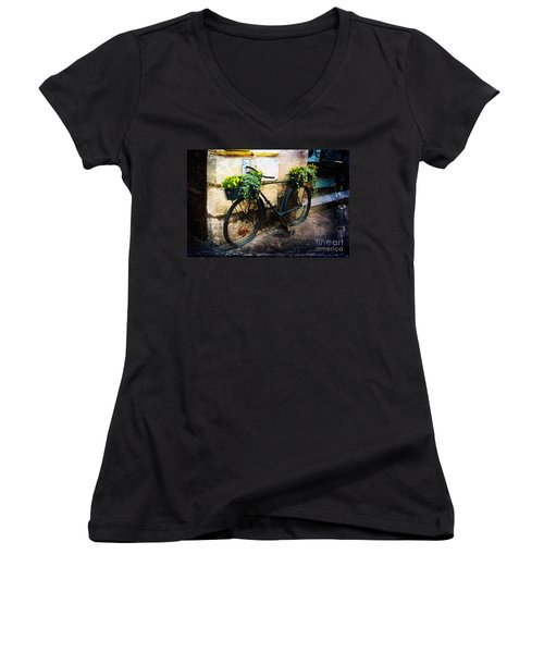 Re-cycle Women's V-Neck T-Shirt
