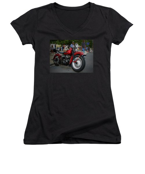 Red Rider Women's V-Neck