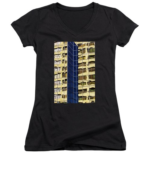 Reflecting Architecture  Women's V-Neck