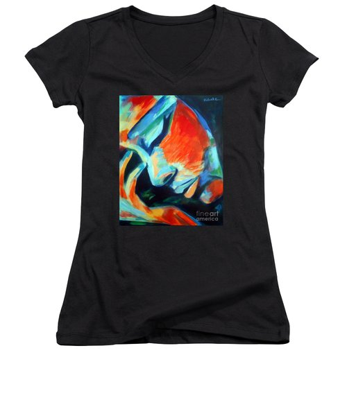 Reflections Women's V-Neck (Athletic Fit)