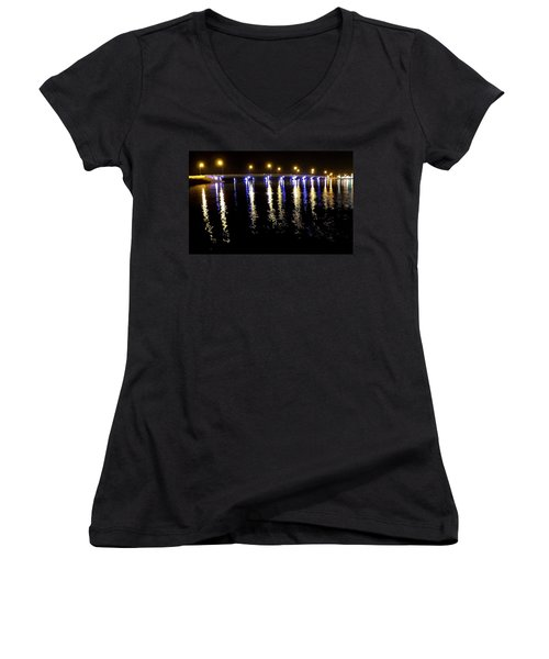 Reflections Of Time Past Women's V-Neck