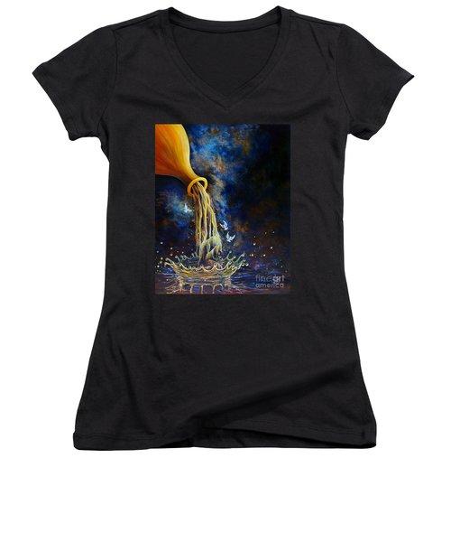 Regeneration Women's V-Neck T-Shirt