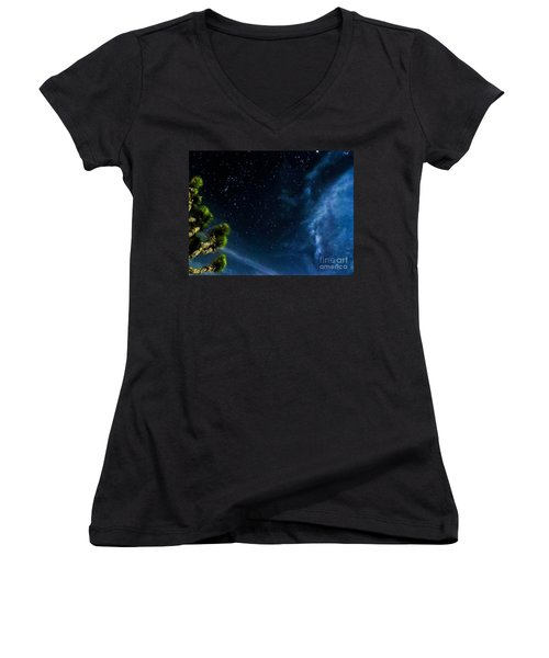 Releasing The Stars Women's V-Neck (Athletic Fit)