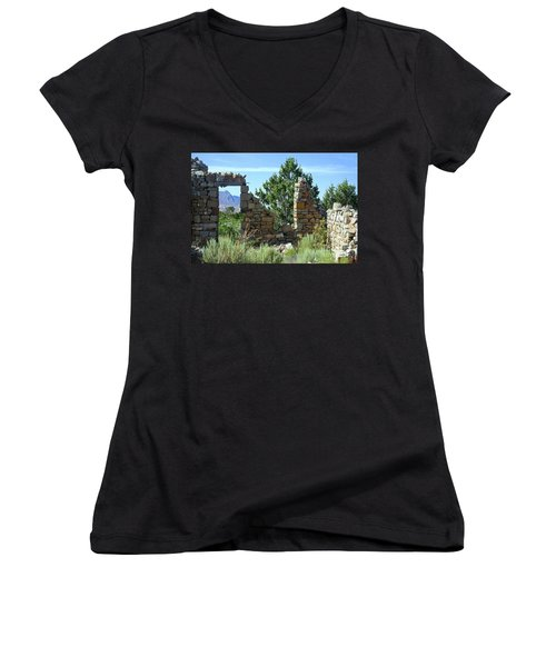 Remains Of A Dream Women's V-Neck (Athletic Fit)