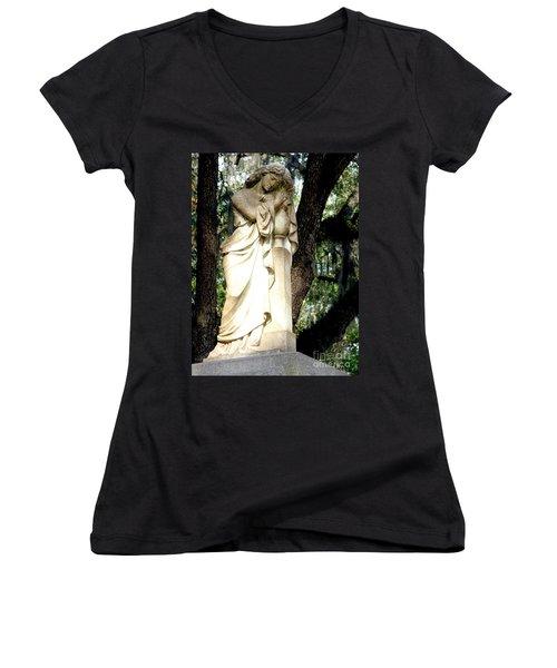 Restful Guardian Women's V-Neck T-Shirt