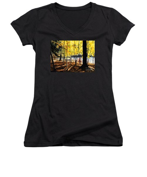 Resting Place Women's V-Neck T-Shirt