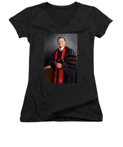 Rev Guy Whitney Women's V-Neck T-Shirt