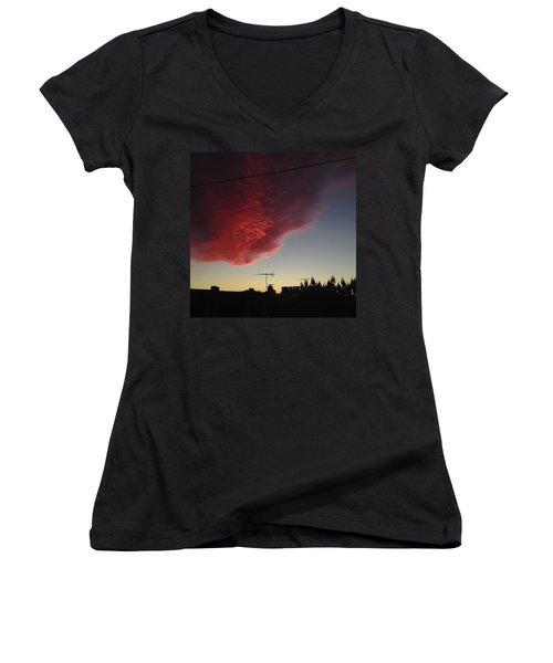 Right Now Women's V-Neck T-Shirt