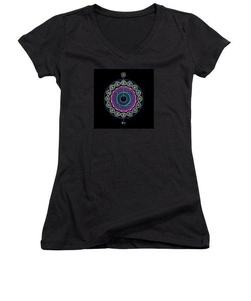 Rising Above Challenges Women's V-Neck T-Shirt