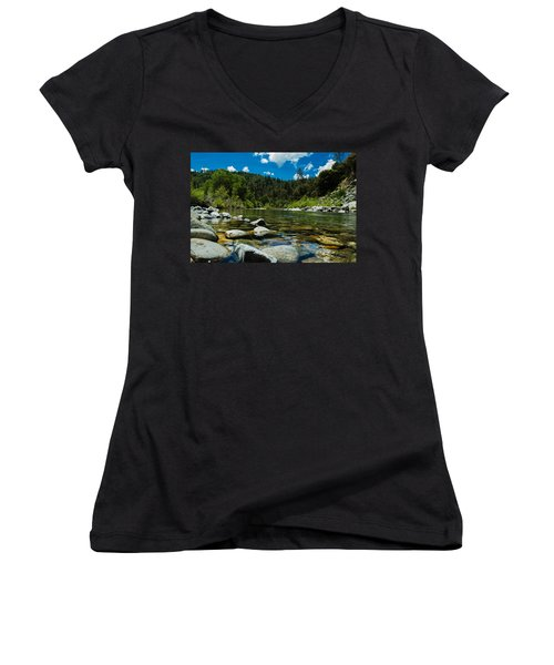 River Bottom Women's V-Neck (Athletic Fit)